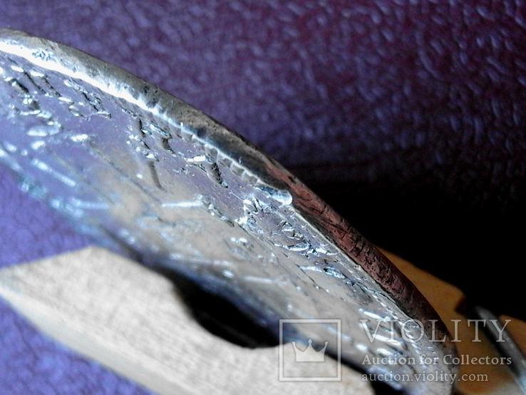 """Рубль 1725 года """"Солнечный"""" СПБ под портретом, над головой трилистник.R- R2, фото №13"""