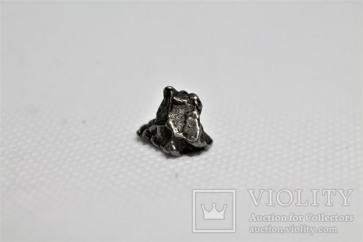 Залізний метеорит Campo del Cielo, 1,95 грам, із сертифікатом автентичності, фото №6