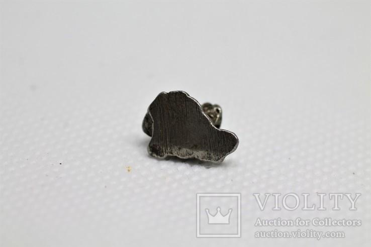 Залізний метеорит Campo del Cielo, 1,95 грам, із сертифікатом автентичності, фото №9
