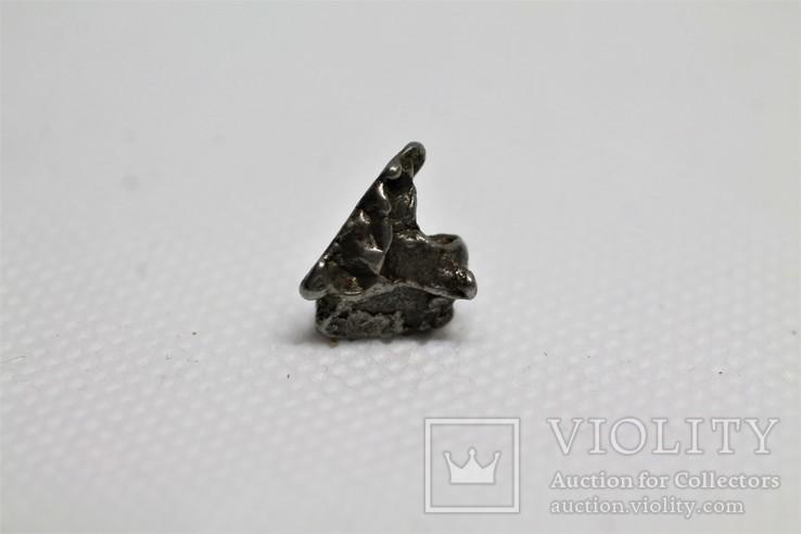 Залізний метеорит Campo del Cielo, 1,95 грам, із сертифікатом автентичності, фото №10
