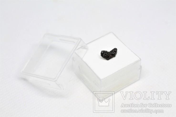 Залізний метеорит Sikhote-Alin, 0,4 г, із сертифікатом автентичності, фото №4