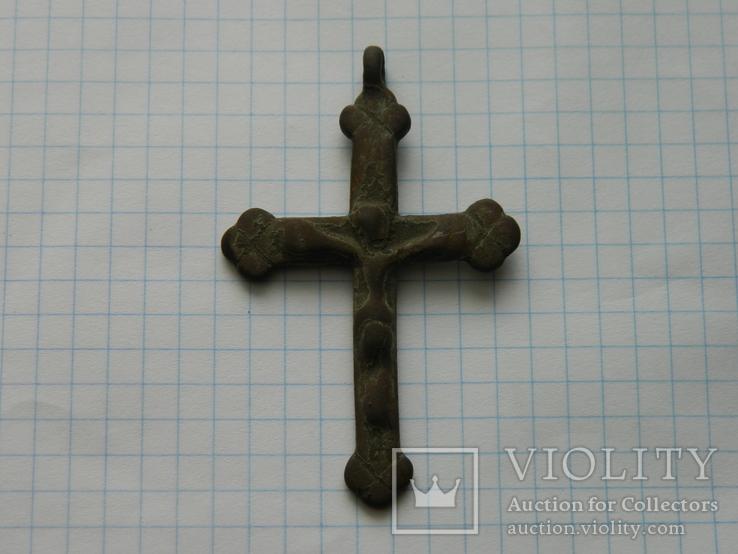 Натільний хрестик 6.5см., фото №3