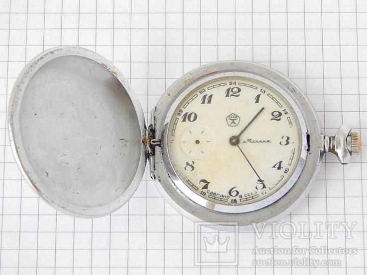 """Часы карманные """"Молния 3602 Глухари"""" (рабочие)., фото №4"""