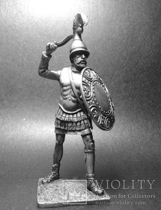 Армии Александра и диадохов 3-4 век до н.э. Сражающийся аргираспид, фото №2