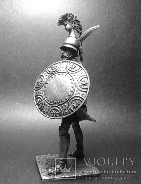 Армии Александра и диадохов 3-4 век до н.э. Сражающийся аргираспид, фото №4