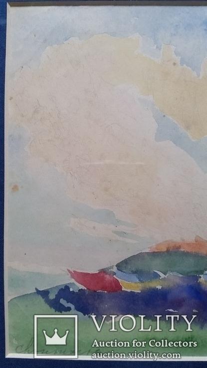 """Кульчицька Олена """"Фантазія"""",  папір, акварель, 17,9х23,7 см, фото №5"""