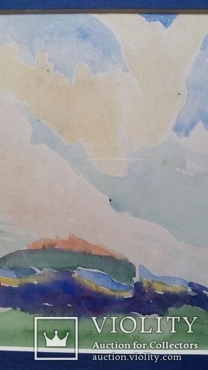 """Кульчицька Олена """"Фантазія"""",  папір, акварель, 17,9х23,7 см, фото №6"""
