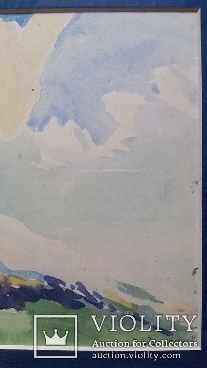 """Кульчицька Олена """"Фантазія"""",  папір, акварель, 17,9х23,7 см, фото №7"""