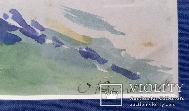 """Кульчицька Олена """"Фантазія"""",  папір, акварель, 17,9х23,7 см, фото №8"""