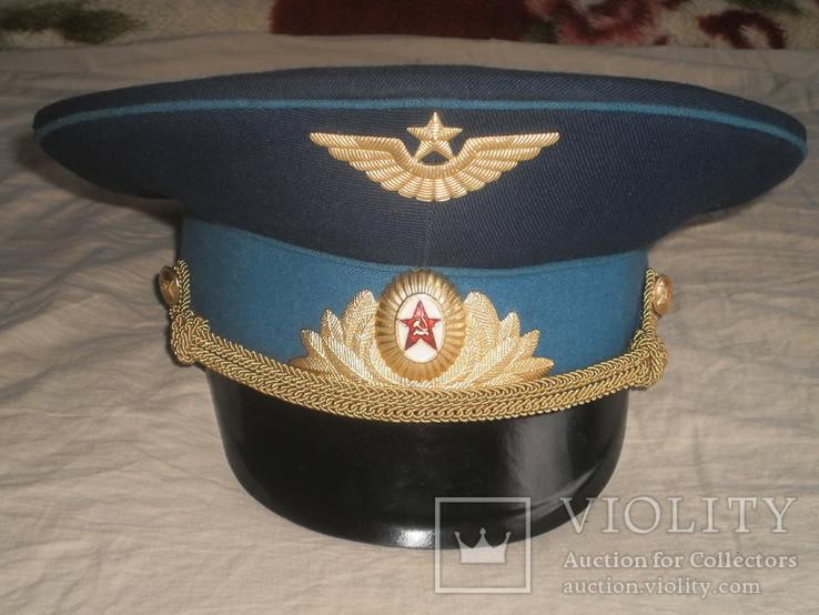 Парадная фуражка офицера ВВС СССР, фото №2