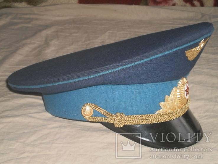 Парадная фуражка офицера ВВС СССР, фото №4