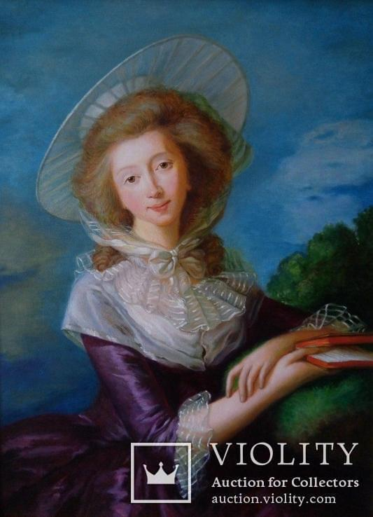 Копия портрета Виконтесса де Водрей