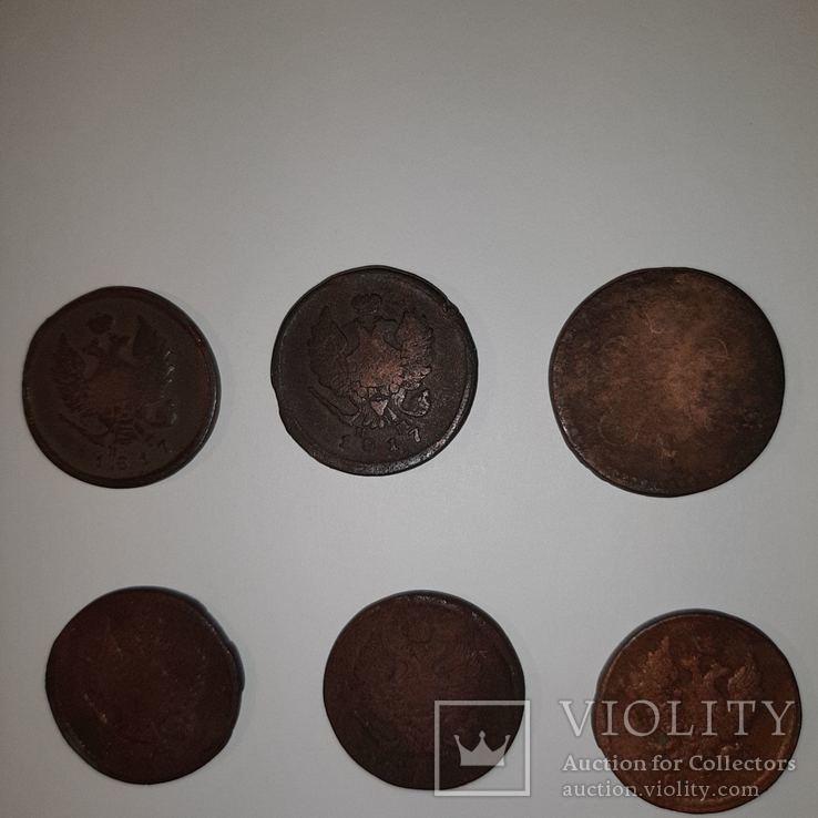 Монеты РИ 1 и 2 копейки (19 шт. Есть повторы) Одним лотом. См. Описание, фото №8