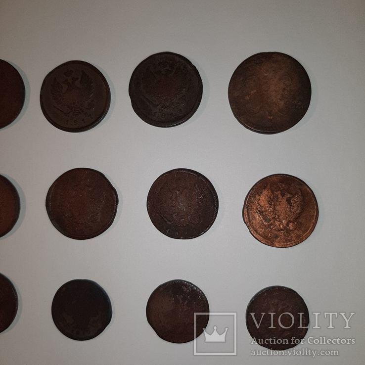 Монеты РИ 1 и 2 копейки (19 шт. Есть повторы) Одним лотом. См. Описание, фото №9