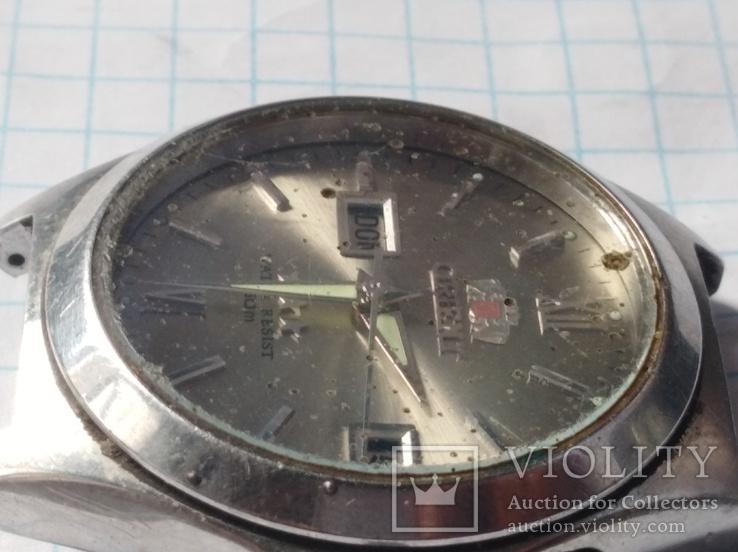 Часы orient water resist 50 m автоподзавод, фото №5