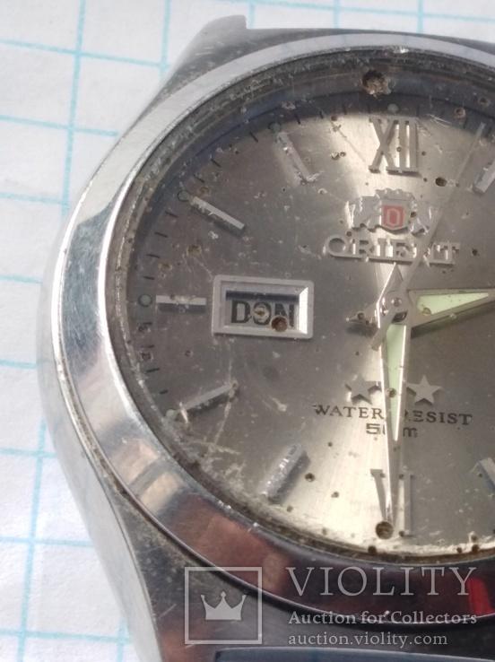 Часы orient water resist 50 m автоподзавод, фото №8