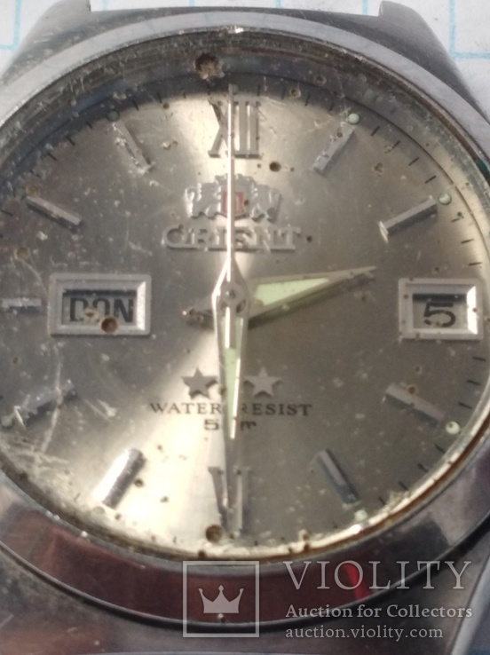 Часы orient water resist 50 m автоподзавод, фото №9