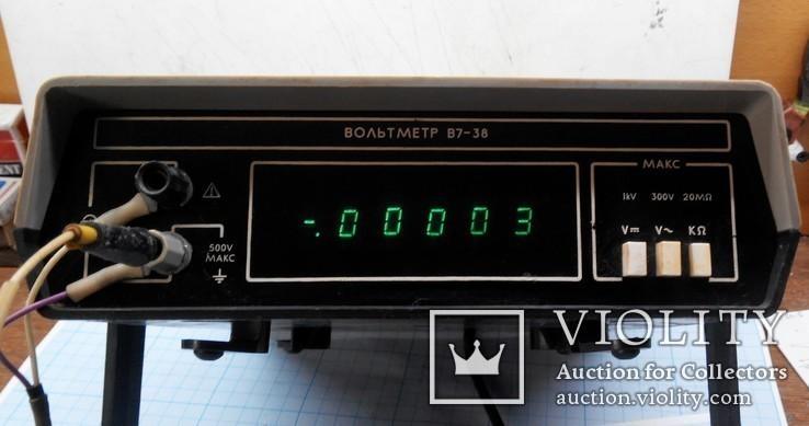 37 Вольтметр В7-38, фото №2