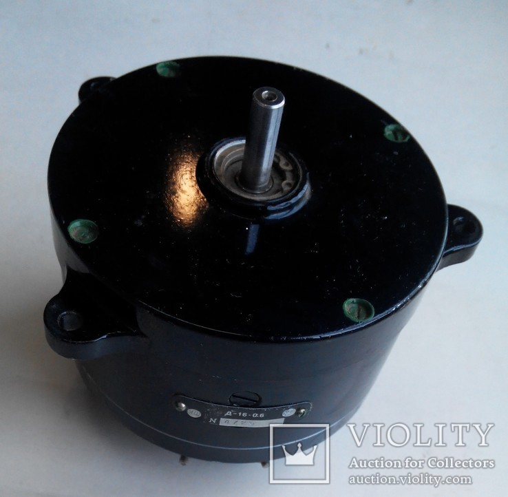 19 Электродвигатель Д16-06, фото №2