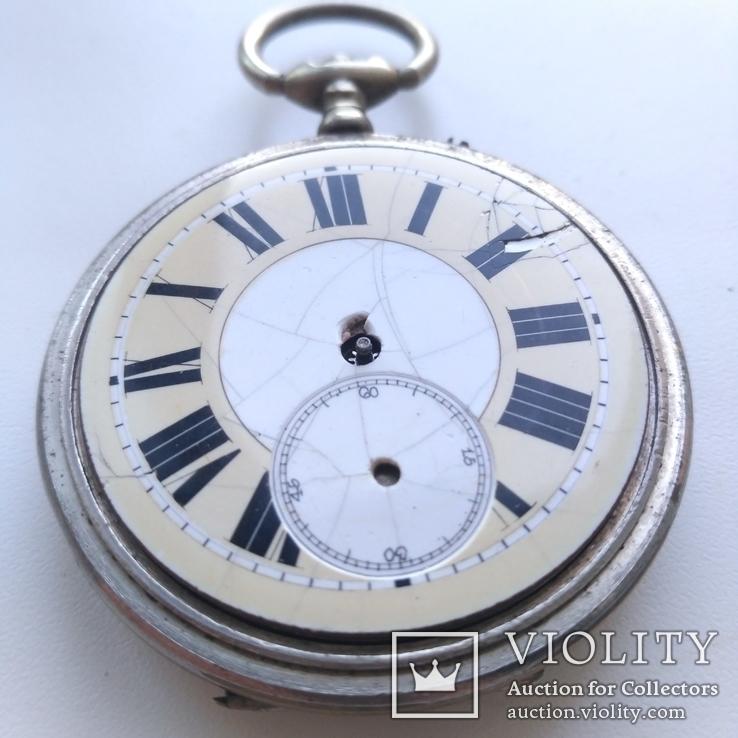 Швейцарские Старенькие Карманные часы, фото №5