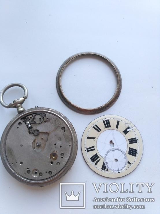 Швейцарские Старенькие Карманные часы, фото №7