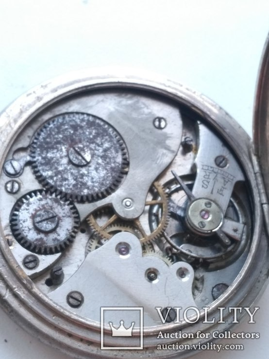 Швейцарские Старенькие Карманные часы, фото №9