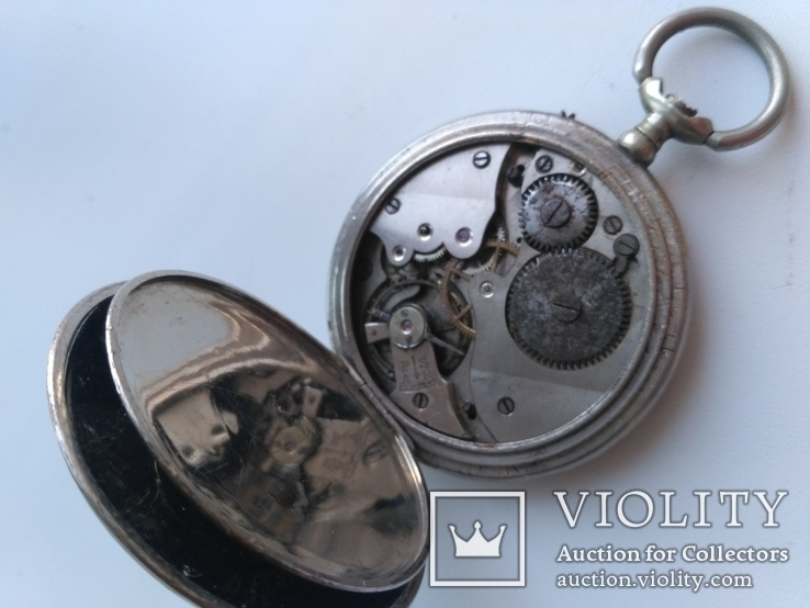 Швейцарские Старенькие Карманные часы, фото №12