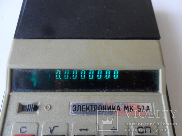Калькулятор Электроника МК 57А, фото №3