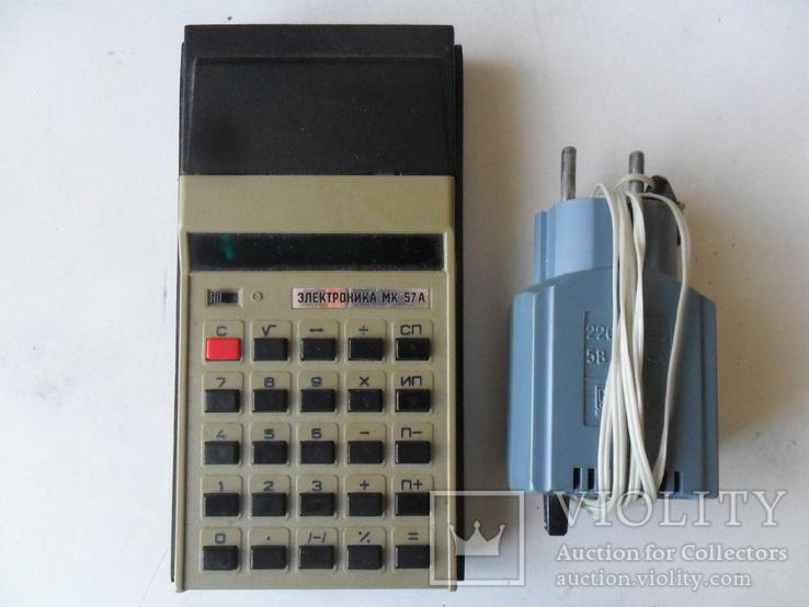Калькулятор Электроника МК 57А, фото №6