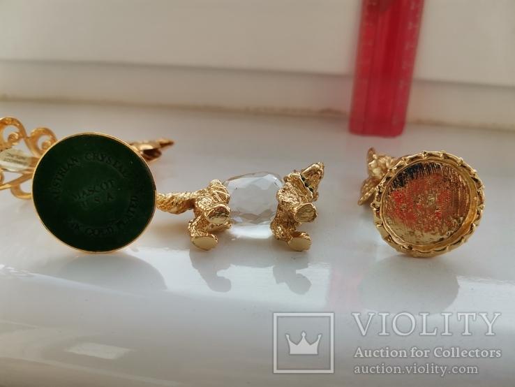 Изделия из хрусталя и металла с кристаллами, фото №4