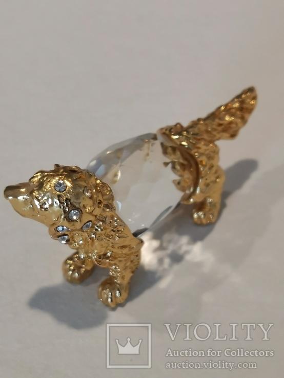 Изделия из хрусталя и металла с кристаллами, фото №10