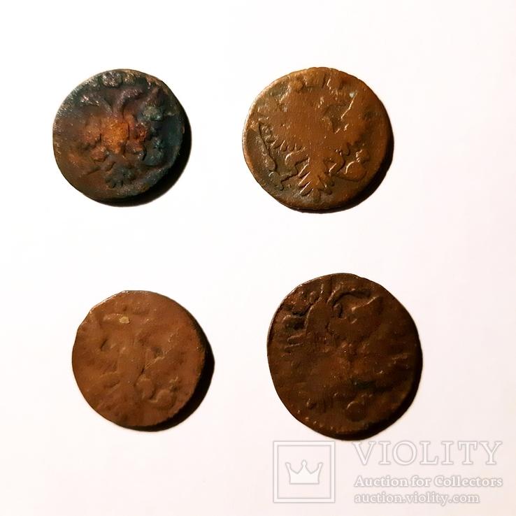 Монеты РИ ПОЛУШКИ 4 ШТ. С браком и разными разновидностями. См. Описание, фото №3