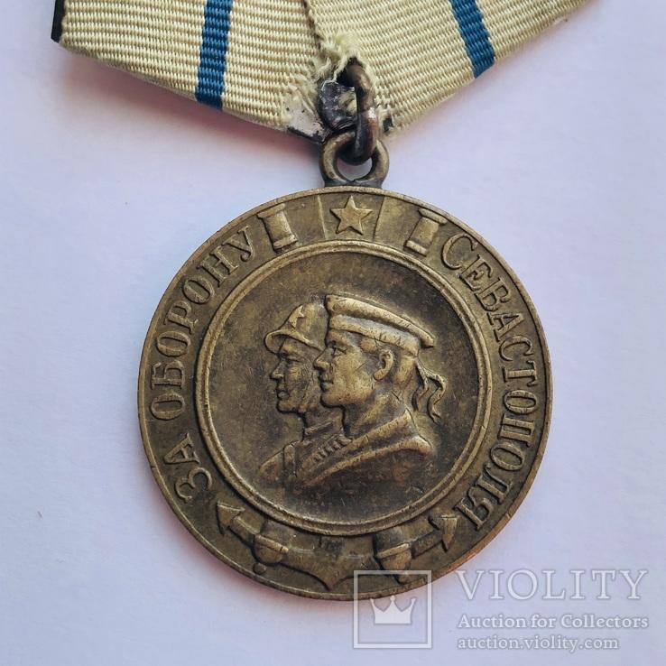 За оборону Севастополя боевая, фото №3