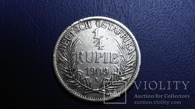1/ рупии 1909 Германской Восточной Африка, фото №2