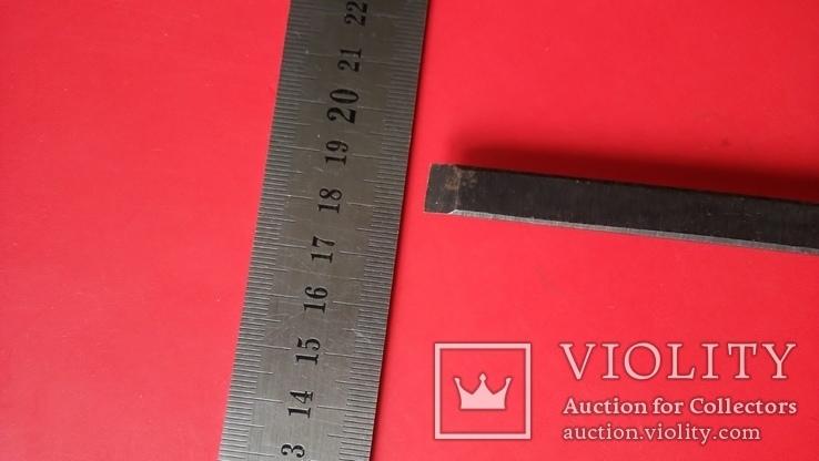 Стамеска советская 10 мм Пластмассовая ручка желтая, фото №6