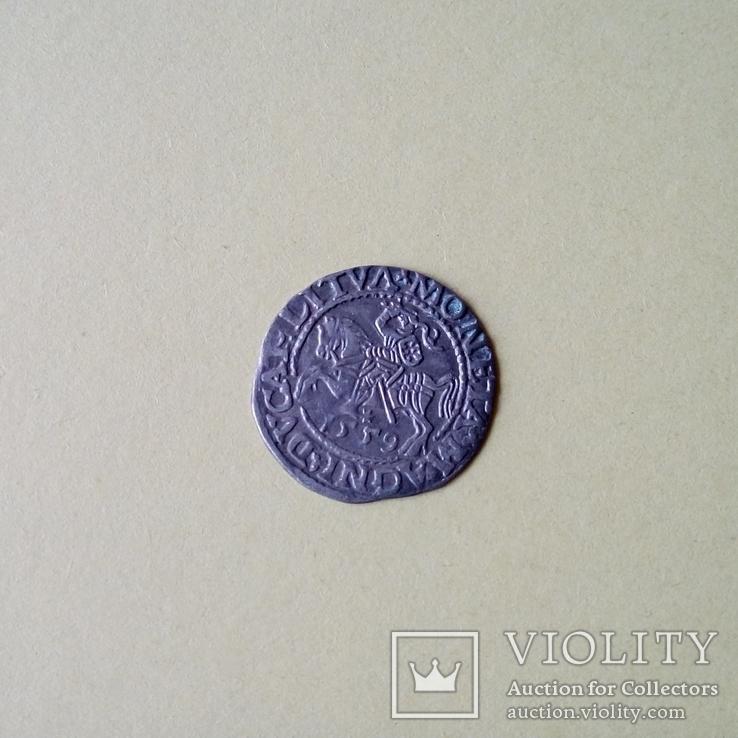 Полугрош Литва 1559 ВКЛ Всадник, фото №6