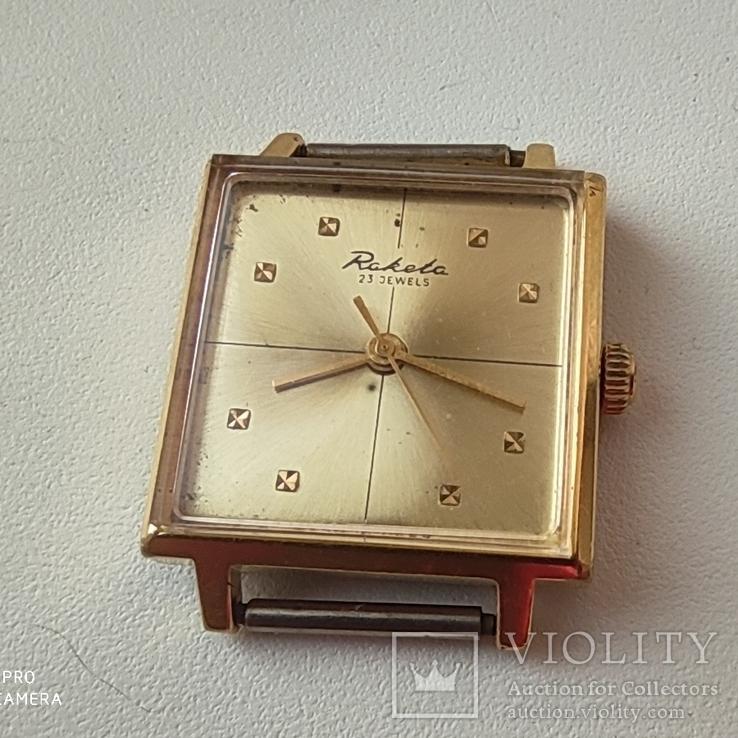 Часы Ракета 2209. позолота Au20