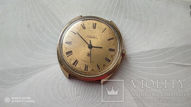 Часы Ракета большая (знак качества) позолота Au