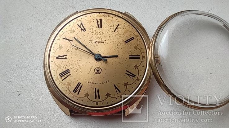 Часы Ракета большая (знак качества) позолота Au, фото №4