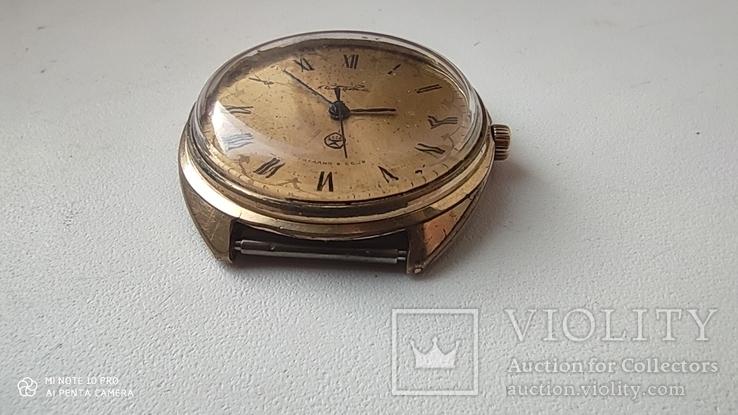 Часы Ракета большая (знак качества) позолота Au, фото №8