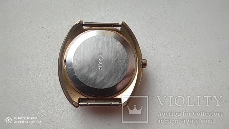 Часы Ракета большая (знак качества) позолота Au, фото №9