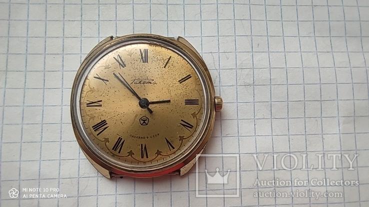 Часы Ракета большая (знак качества) позолота Au, фото №11