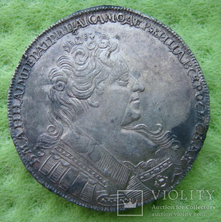 Рубль 1731 г., фото №7
