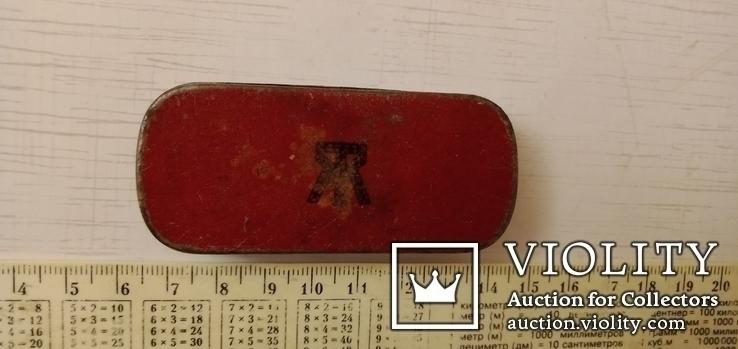 Старинная коробка от крема Ликодермин ТЭЖЭ, фото №4