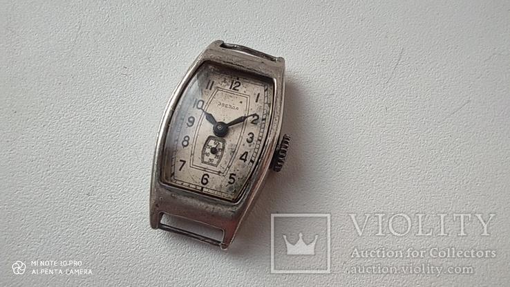 Часы Звезда корпус серебро 875пр, фото №3