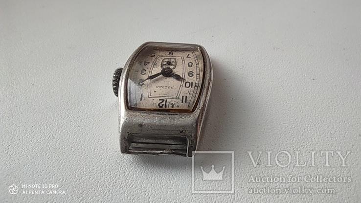 Часы Звезда корпус серебро 875пр, фото №5