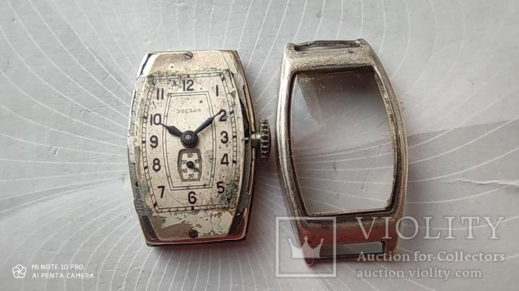 Часы Звезда корпус серебро 875пр, фото №10