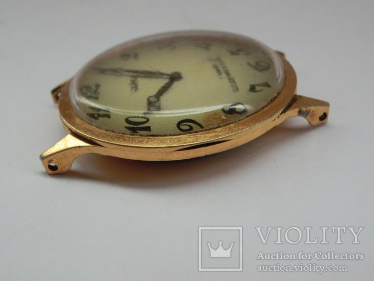 Часы Чайка позолота СССР Ау-10, фото №9
