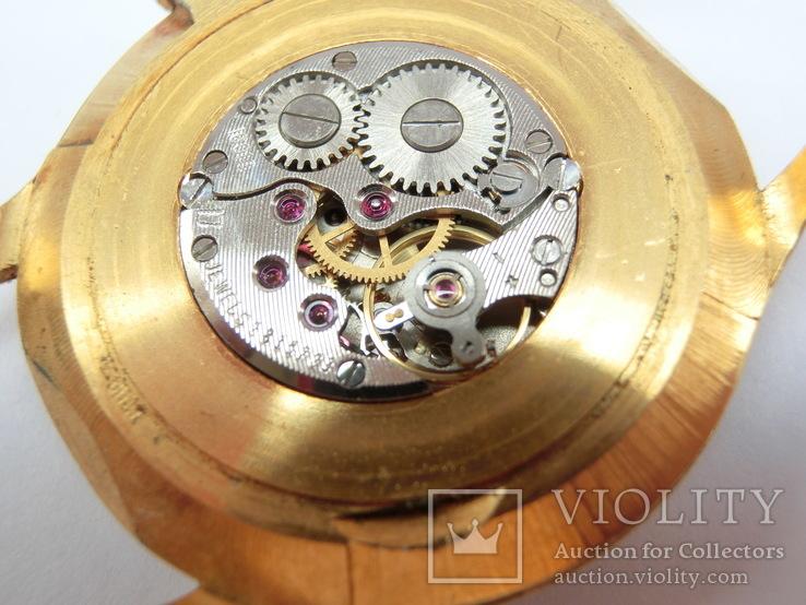 Часы Чайка позолота СССР Ау-10, фото №12