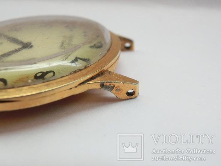 Часы Чайка позолота СССР Ау-10, фото №13